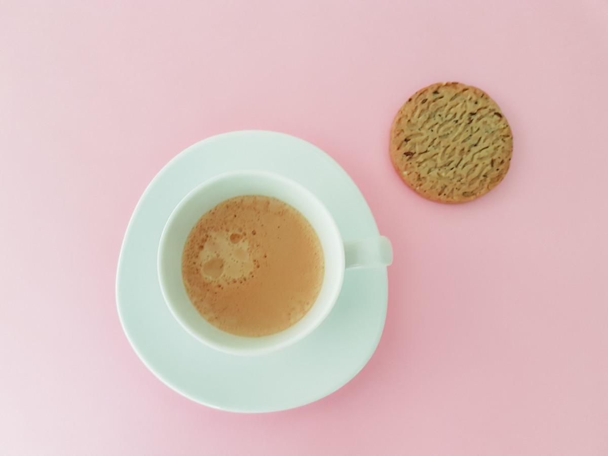 Je prenais moncafé